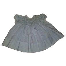 Mid Century Baby/Toddler Smocked Dress