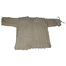 Vintage Infant Baby Knit Sweater