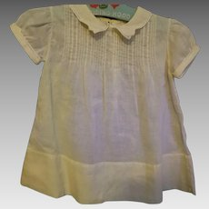Mid Century Baby/Toddler Smocked Dress