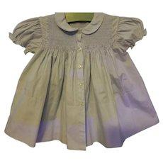 Feltman Bros Infant Blue smocked Dress