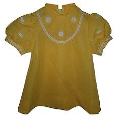 Vintage Children's Polyster Dress Bambino Paris
