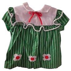 Sweet Vintage Green Dress