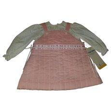 1980s Boutique Infant 2 Piece Outfit  Rosebuds