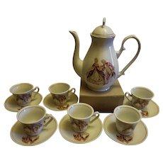 Unmarked Childrens Partial Tea Set