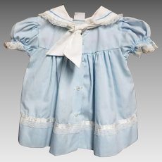 Infant Blue Sailor Style Dress