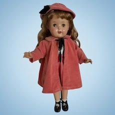 Unmarked 19 Inch Composition Doll