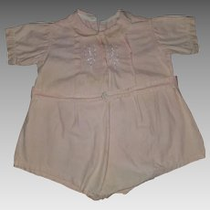 Lovely pink one piece outfit date to 1940s