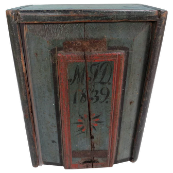 Polychrome Candle Box