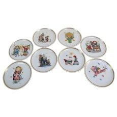 Miniature Hummel Plates