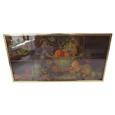 Framed Painting on Tile