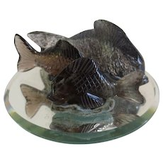 3 Small Lalique Fish