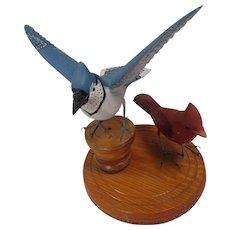 Pair of Birds by John Fliegerbauer