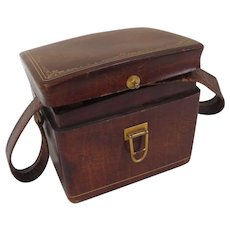Italian Leather Box Purse