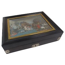 Ebony Valuables Box