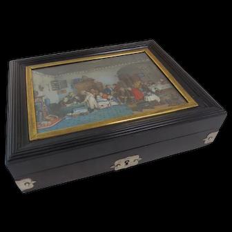 Ebony Valuables Box