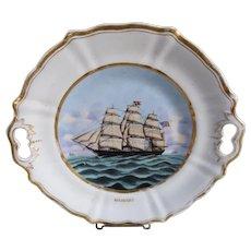 Huguenot Ship Plate