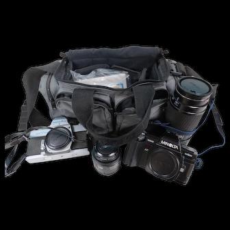 Minolta SRT 101 and 7000 with lenses