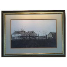 "Andrew Wyeth Print ""The Mill"""