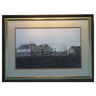 """Andrew Wyeth Print """"The Mill"""""""