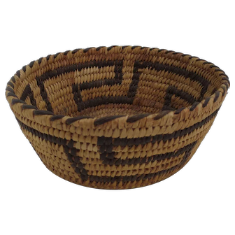 Late 19th or early 20th Century Indian Basket
