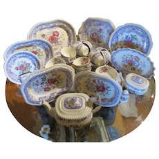 Large set of Mayflower Spode