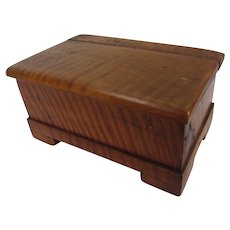 Miniature Tiger Maple Chest