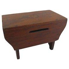 Miniature Wooden Bench Bank