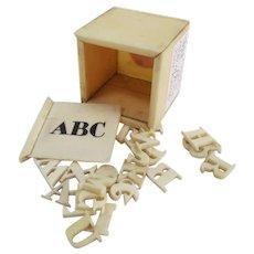 Bone ABC Box
