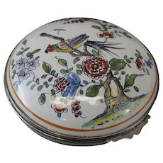 Sinceny French Faience Box, c1730