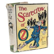 L. Frank Baum; John Neill Scarecrow of Oz Reilly Britton Co 1st Ed 1915