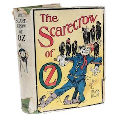 L. Frank Baum; John Neill [illus] Scarecrow of Oz Reilly Britton Co 1st Ed 1915