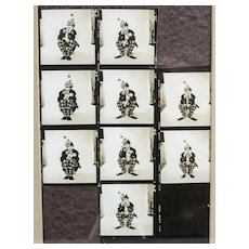Richard Avedon 1923 - 2004 Photograph Judy Garland as Clown Contact Sheet 1950s