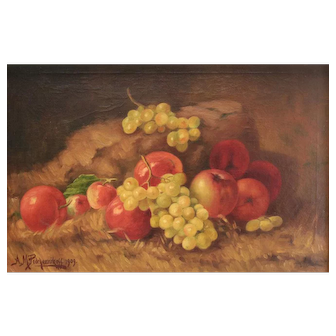 Alexis Matthew Podchernikoff (Russo/American 1886-1933) Oil Painting Still Life