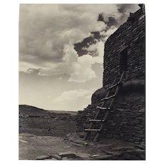 Josef Muench American 1904-1998 B/W Gelatin Silver Photograph Wupatki No. 132A
