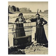 Josef Muench (American 1904-1998) B/W Photograph Women of the Desert