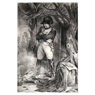 Nicolas Toussaint Charlet (French, 1792–1845) Lithograph Napoleon Bonaparte