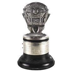 1958 ATN Bogota Columbia .900 Silver Movie Award Peyton Place Devil's Kettle