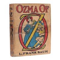 L. Frank Baum John Neill Ozma of Oz The Reilly Britton Co 1st Ed 1907