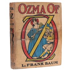 L. Frank Baum John Neill Ozma of Oz The Reilly Britton Co 1st Ed 1907