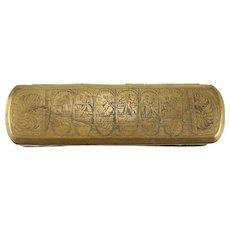 Dutch Brass and Copper Tobacco Box 19th Century