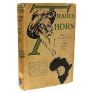 Alfred Aloysius Lewis Horn Ethelreda Trader Horn: Being the Life 1927 1st Ed