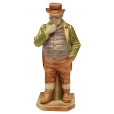 John Bull Royal Worcester Porcelain Countries of the World Figurine #851, 1898