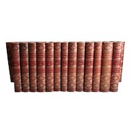 Works of Charles Dickens Library Edition 30 Vol Set Chapman and Hall 1874