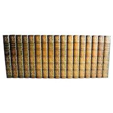 The Life Work of Henri Rene Guy de Maupassant, Ltd Supreme Edition 17 vol 1903