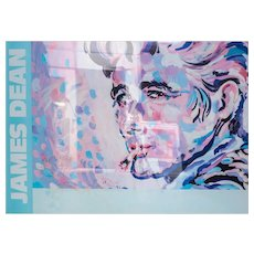 James Paul Brown (American 1938-) James Dean Poster, Signed
