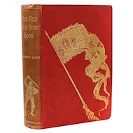 Andrew Lang 'The Red True Story Book' Longmans, Green, & Co, London,1895 1st Ed