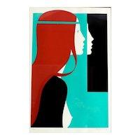 Amleto Dalla Costa (Italian 1929-) Original Serigraph 1979, Signed #62/325