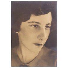 Roger Sturtevant Photographic Portrait, Silver Gelatin Portrait