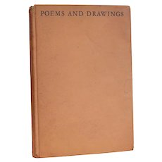 Maynard Dixon, Poems and Seven Drawings, 253 Limited Edition Copies 1923