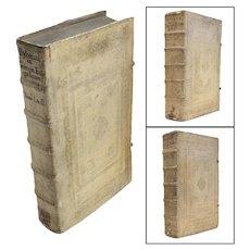 Rare R.P.D.F. Joannis da Sylveira Olyssiponensis Carmeliteae 1681 Vol.I-VI, 3 volumes